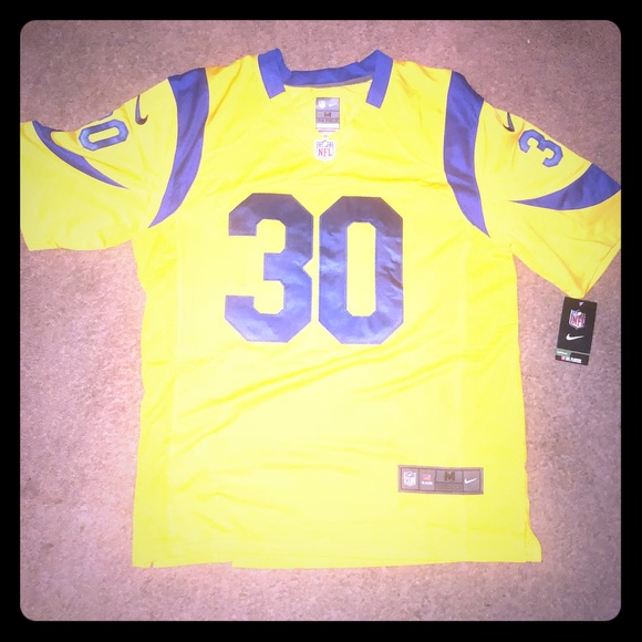 uk availability ffb0d 03d80 Todd gurley jersey NWT